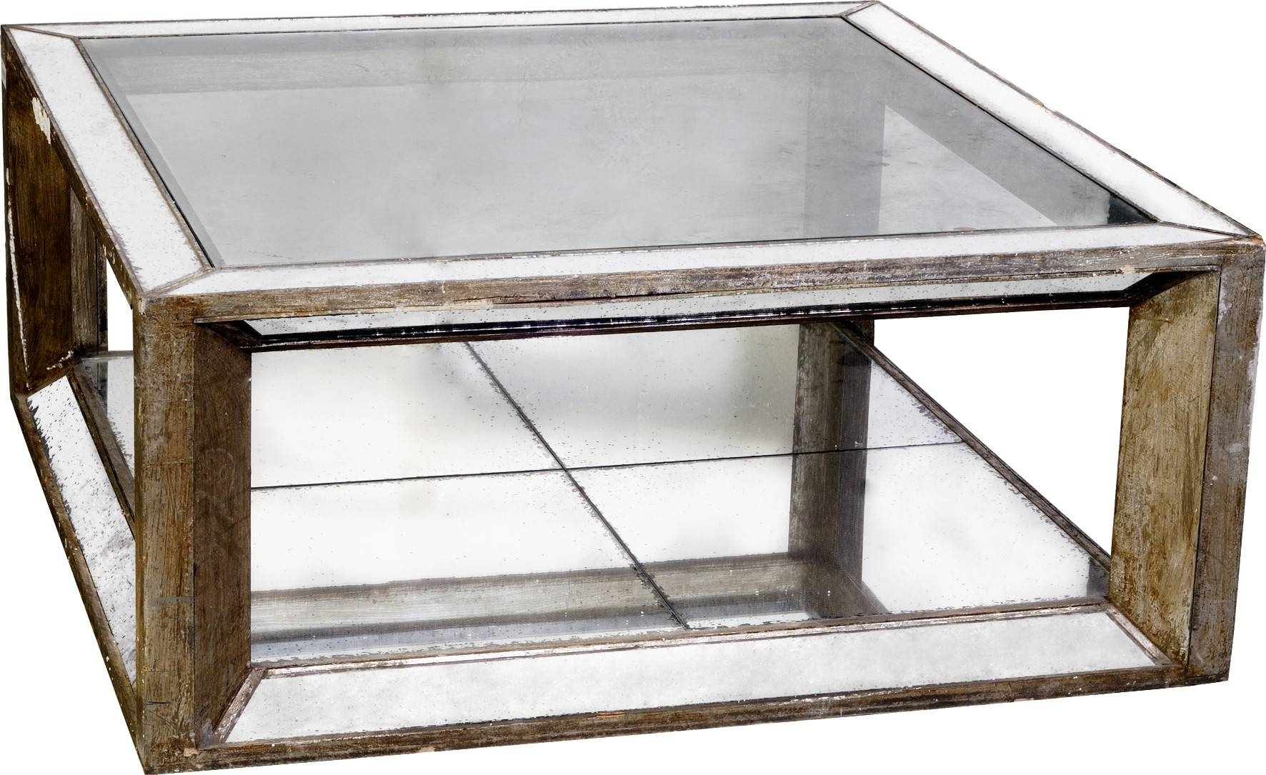 Antique Mirrored Coffee Table Mirror Top S313868451368926296 P211 intended for Oval Mirrored Coffee Tables (Image 1 of 30)
