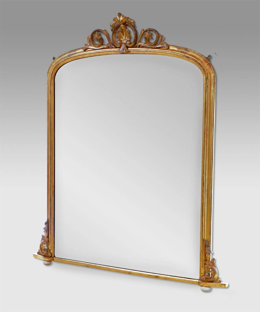 Antique Mirrors Images - Reverse Search intended for Vintage Overmantle Mirrors (Image 6 of 25)