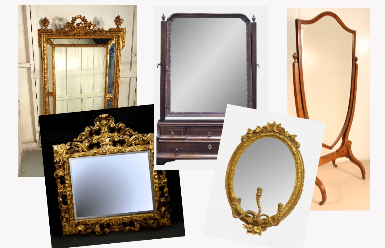 Antique Mirrors Information | Learn About Antique Mirrors throughout Gothic Style Mirrors (Image 10 of 25)