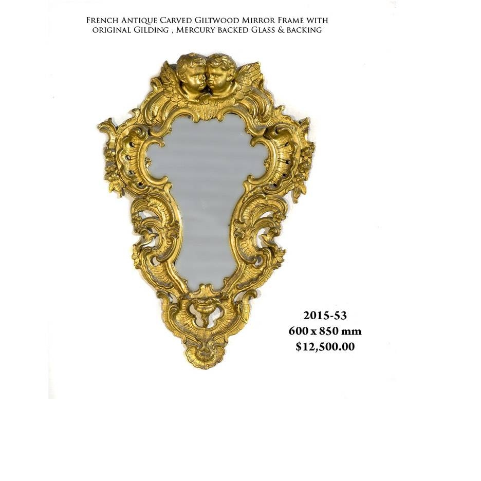 Antique Mirrors Melbourne | French Antique Mirrors >> Giltwood pertaining to Reproduction Antique Mirrors (Image 12 of 25)