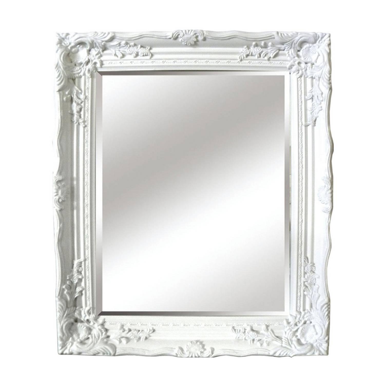 Antique Ornate Mirror regarding Baroque White Mirrors (Image 6 of 25)