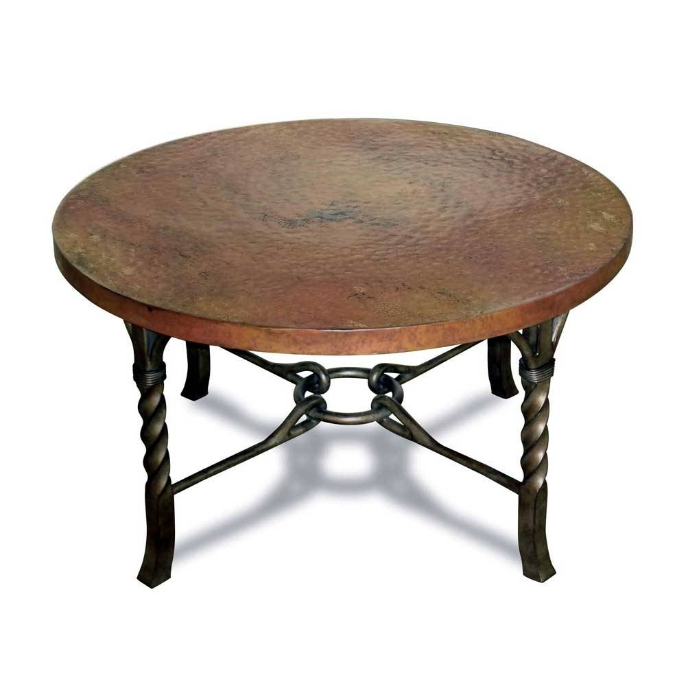 Antique Round Coffee Table – Antique Circular Coffee Table within Round Steel Coffee Tables (Image 2 of 30)
