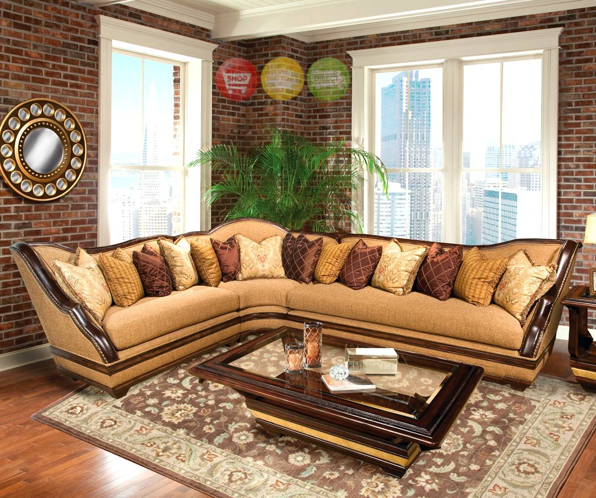 Antique Sectional Sofas Leather: 10 Interesting Antique Sectional with Vintage Leather Sectional Sofas (Image 4 of 30)