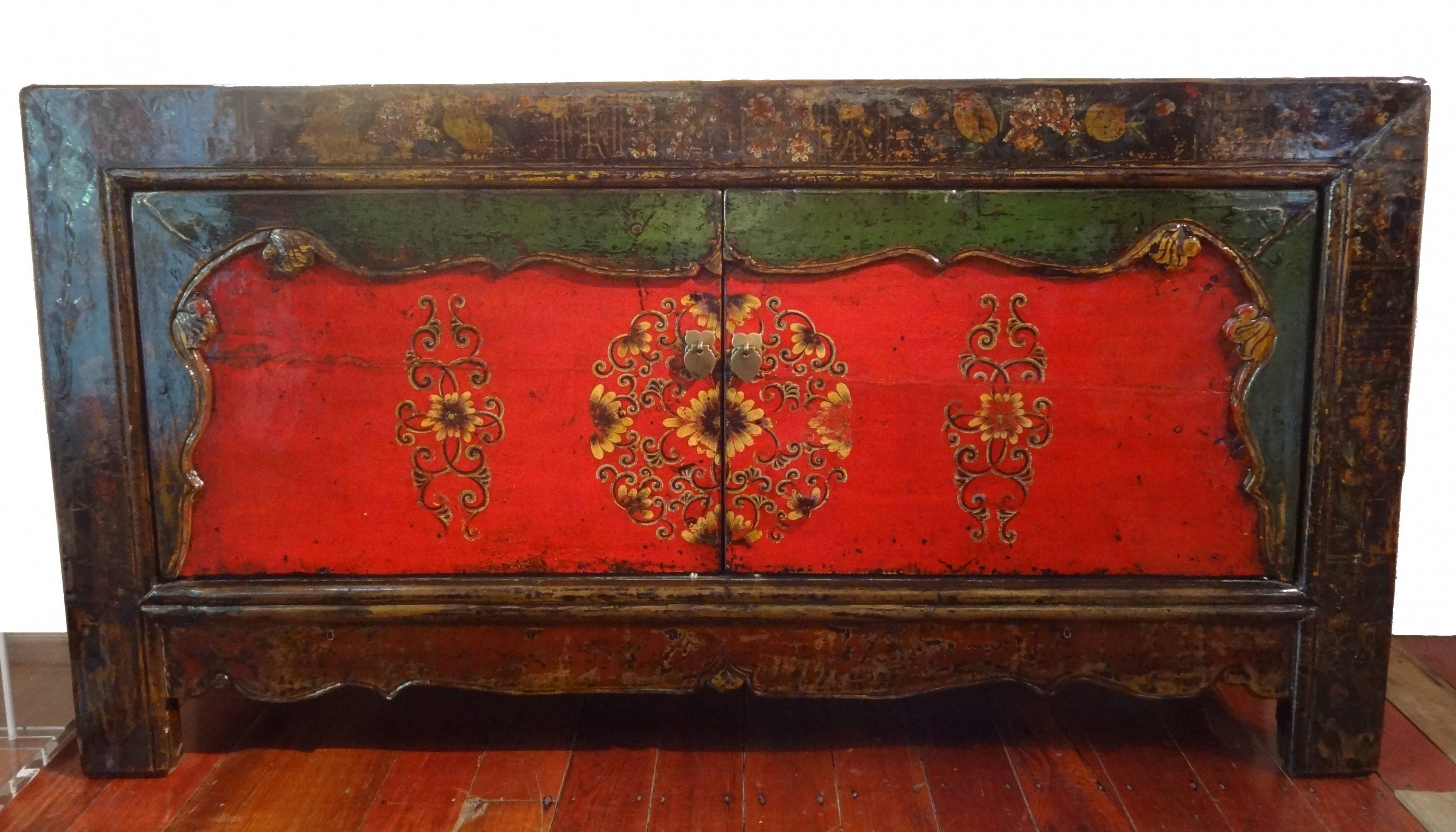 Antique Sideboards | Gallery Categories | Aptos Cruz in Red High Gloss Sideboards (Image 8 of 30)