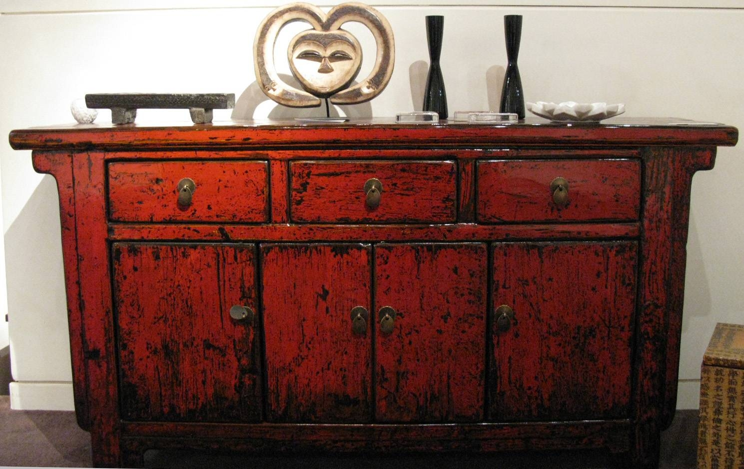 Antique Sideboards | Gallery Categories | Aptos Cruz within Red Sideboards (Image 4 of 30)