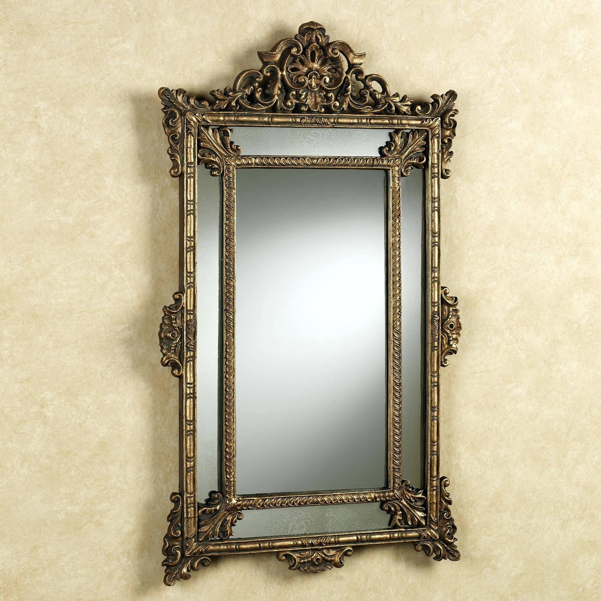 Antique Silver Wall Mirrorantique Mirrors Uk Large Vintage with regard to Vintage Silver Mirrors (Image 8 of 25)