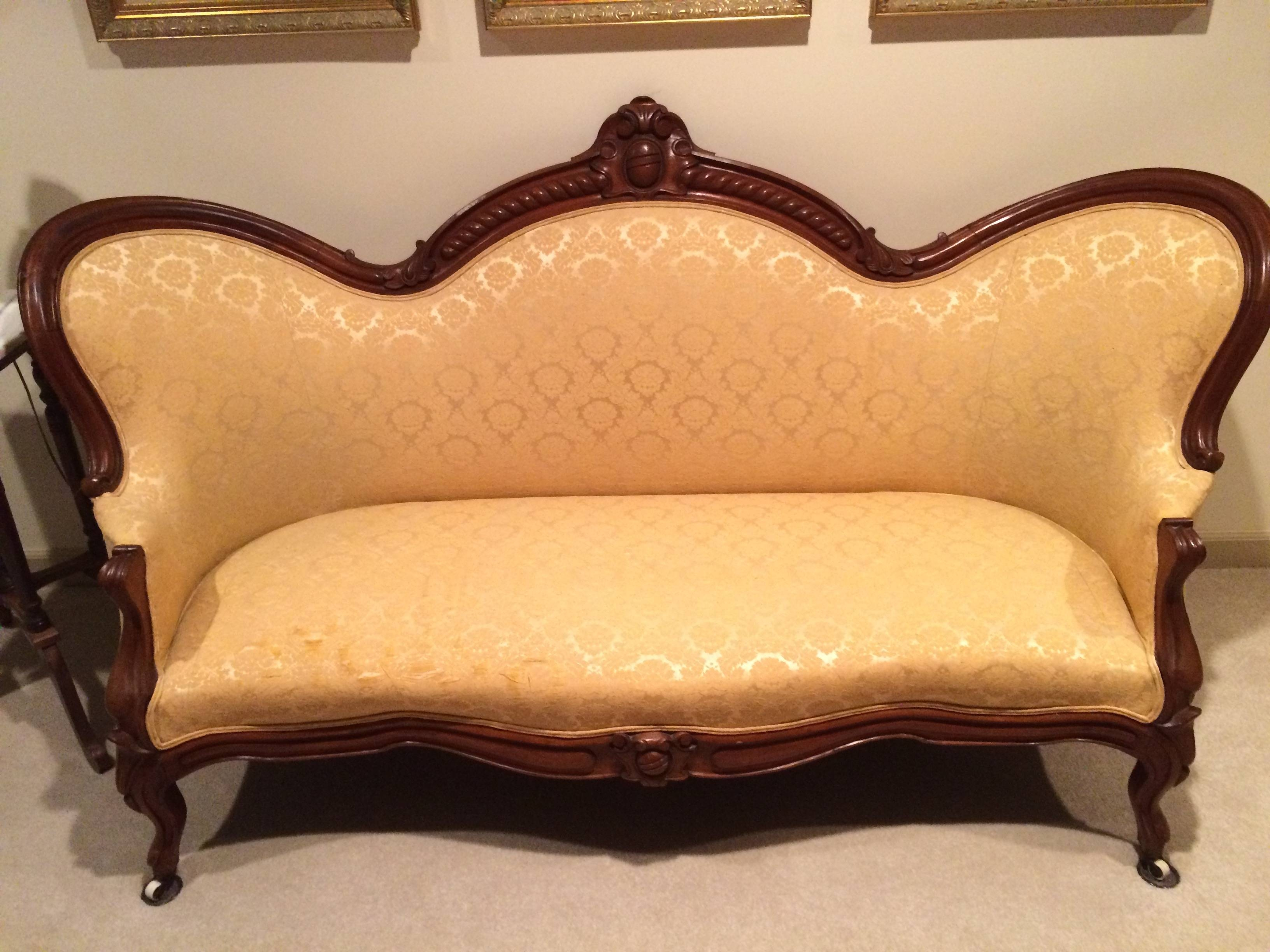 30 The Best Antique Sofa Chairs