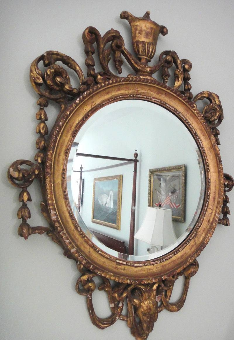 Antique Style: Favorite Collections: Antique Mirrors with regard to Old Fashioned Mirrors (Image 10 of 25)