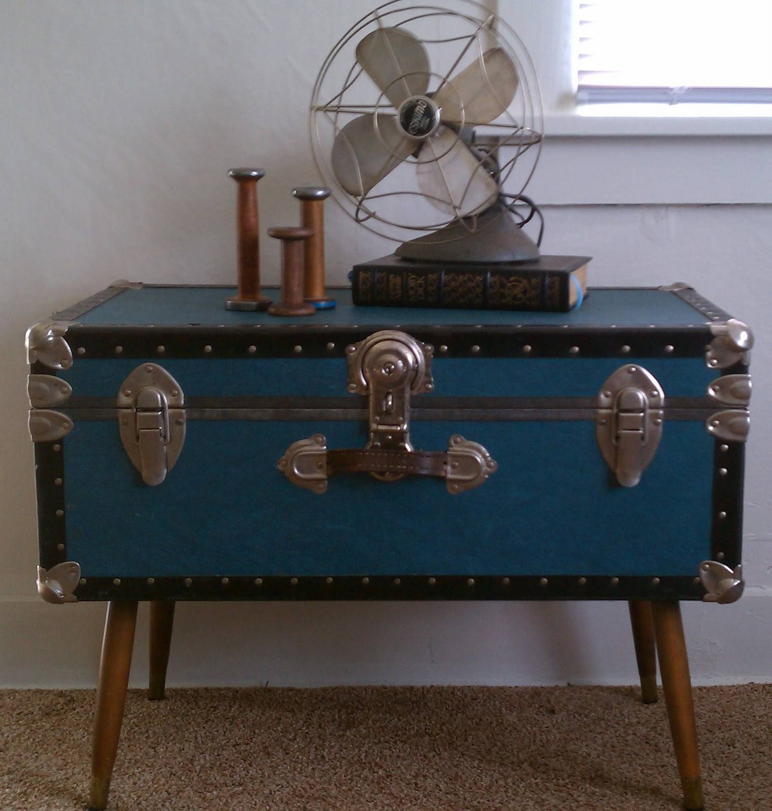 Antique Trunk Coffee Table | Idi Design throughout Old Trunks As Coffee Tables (Image 4 of 30)