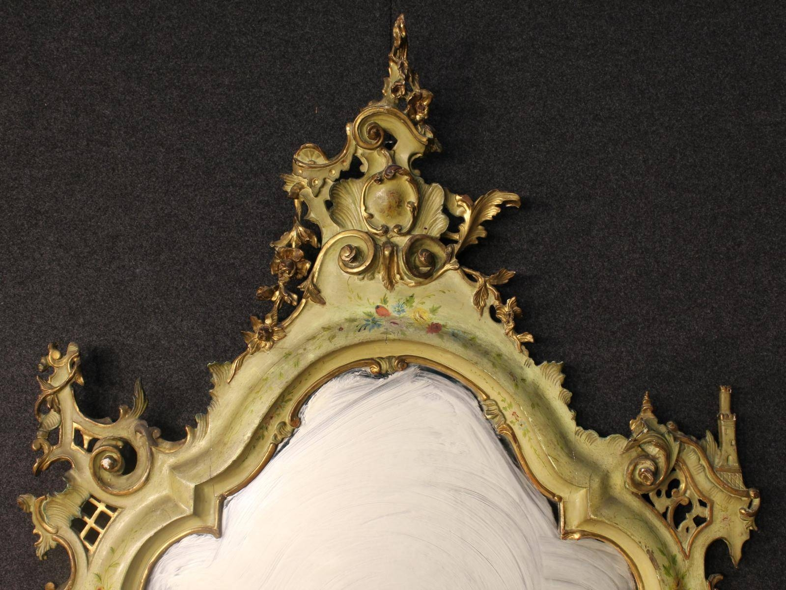 Antique Venetian Gilded Mirror, 1870S For Sale At Pamono Within Antique Gilded Mirrors (View 17 of 25)