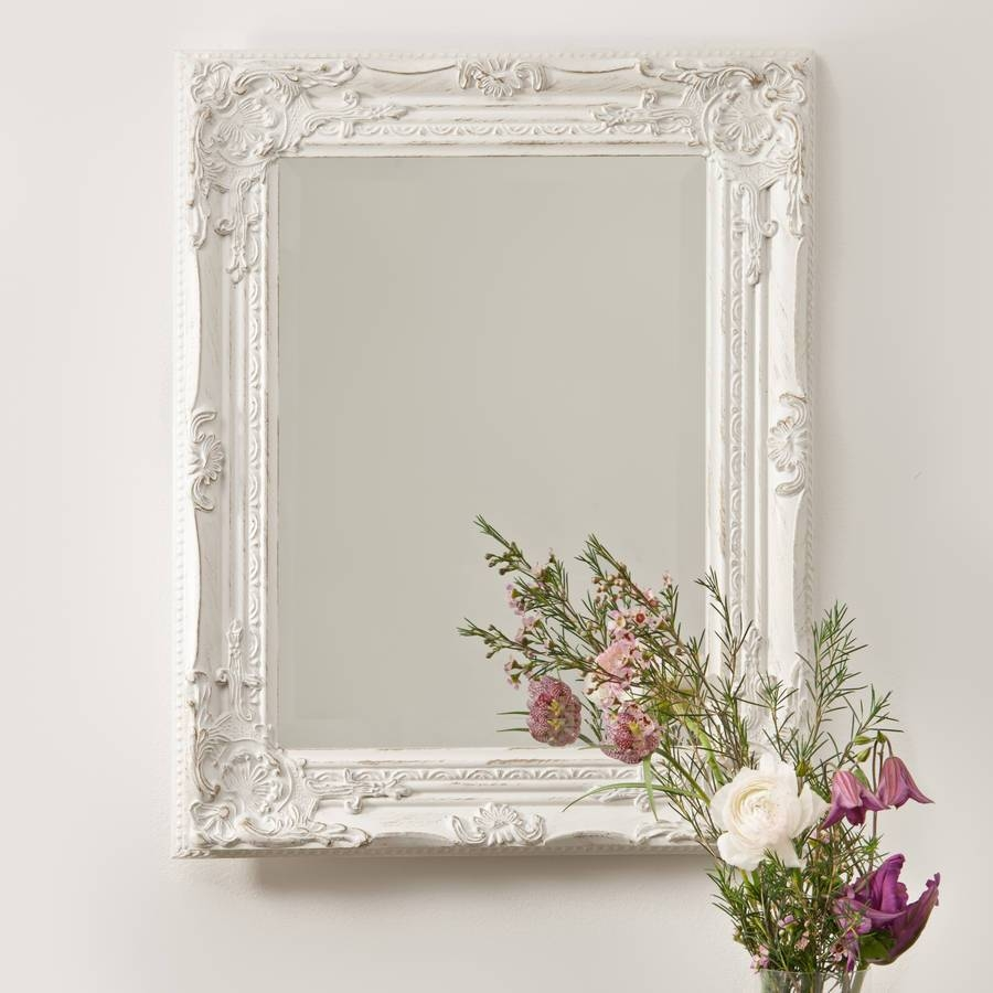 Antique Vintage Wall Mirrors : Doherty House - A Beautiful Of for White Antique Mirrors (Image 5 of 25)