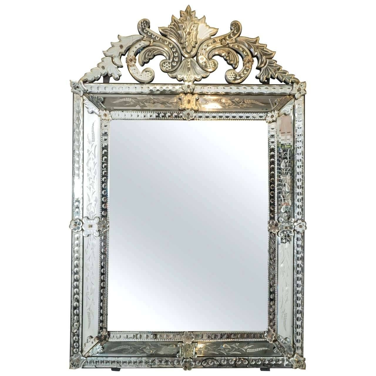 Antique Wall Mirror – Shopwiz throughout Antiqued Wall Mirrors (Image 7 of 25)