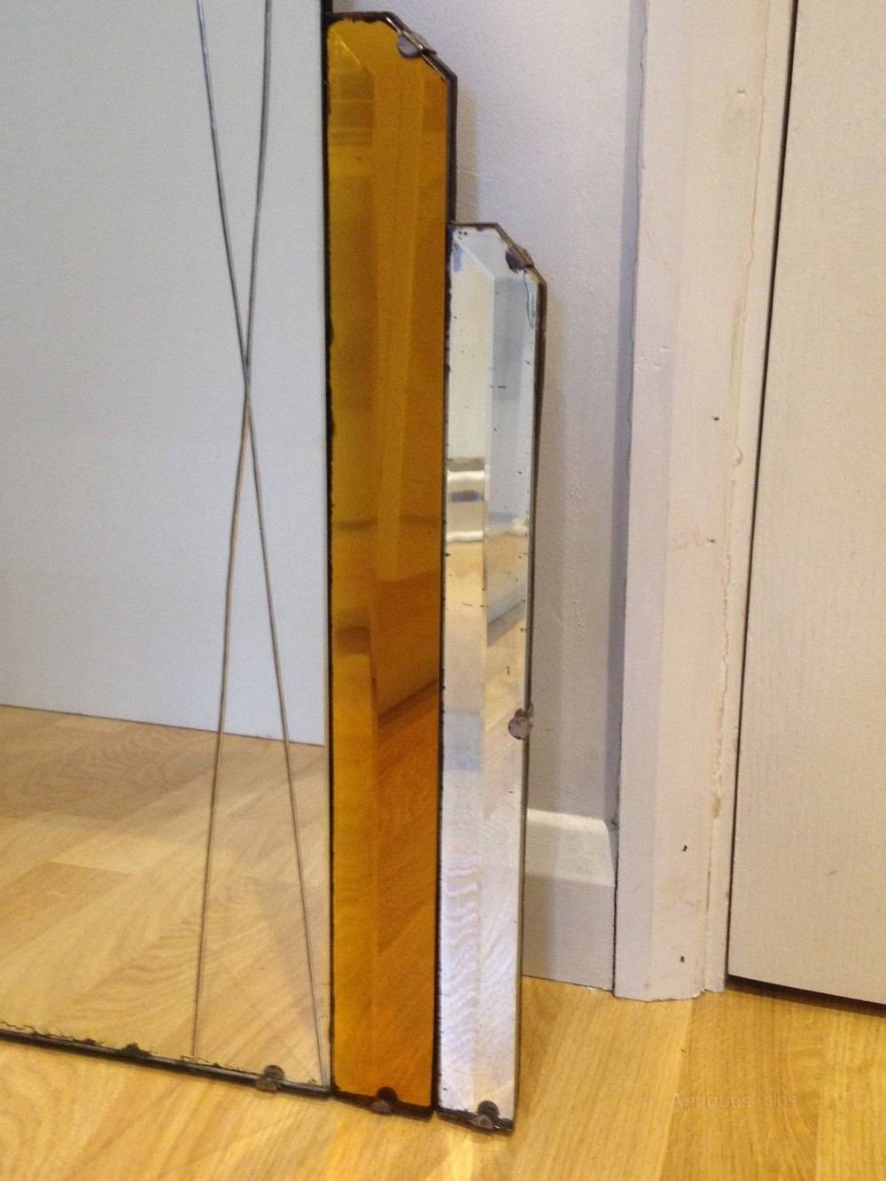 Antiques Atlas - Large Original Art Deco Mirror for Original Art Deco Mirrors (Image 6 of 25)