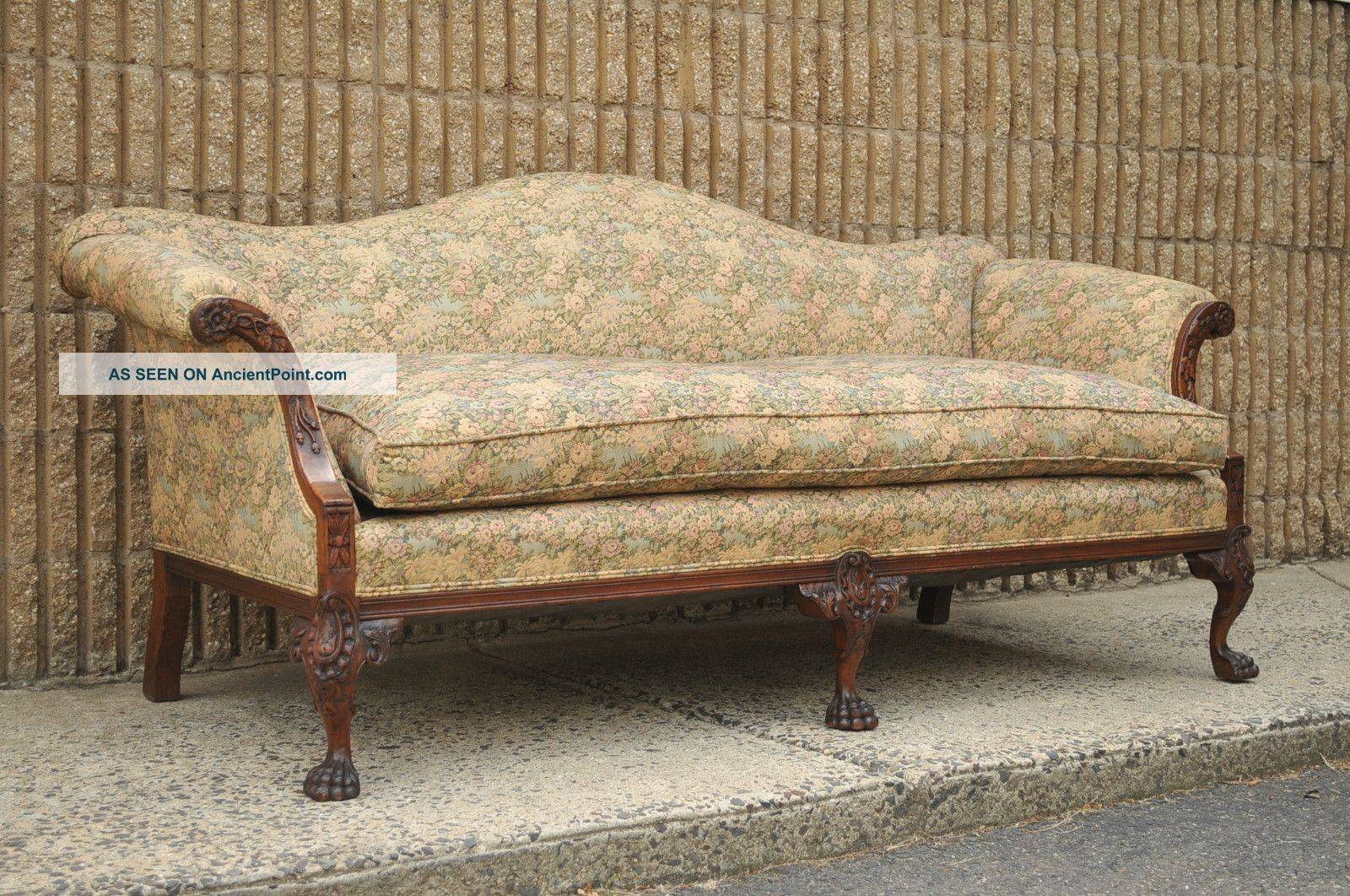 Antiques Sofas with regard to Vintage Sofa Styles (Image 5 of 30)