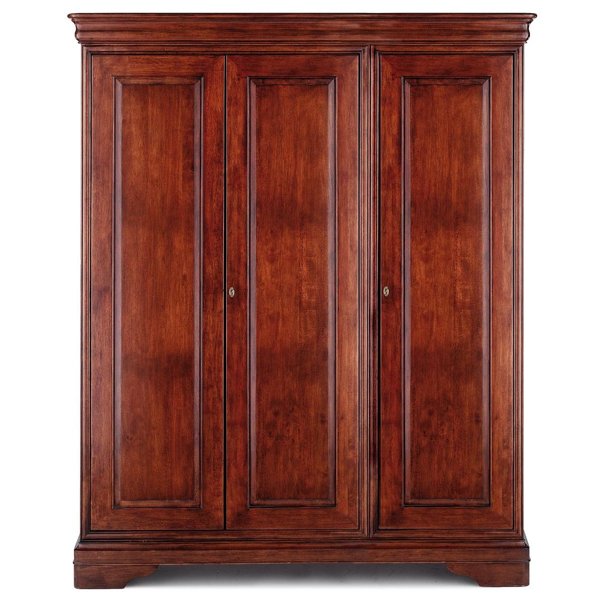 Antoinette Triple Wardrobe – Willis & Gambier With Willis And Gambier Wardrobes (View 7 of 15)