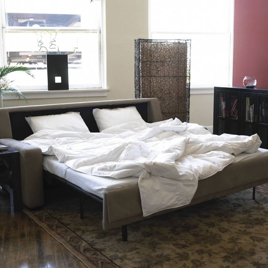 Apartments: Awesome Grey American Leather Comfort Sleeper With in American Sofa Beds (Image 12 of 30)