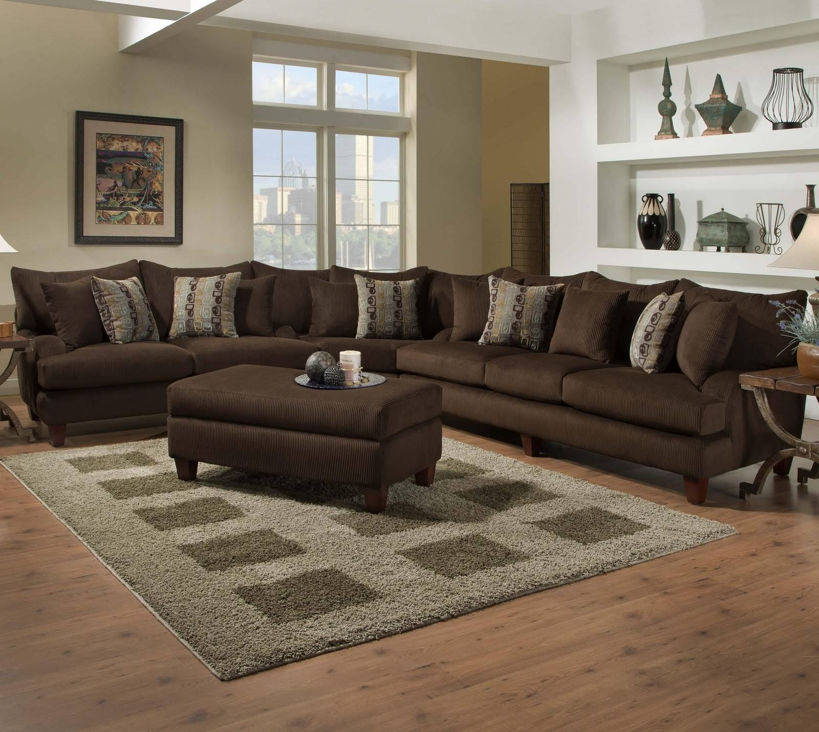 Featured Photo of 7 Seat Sectional Sofa