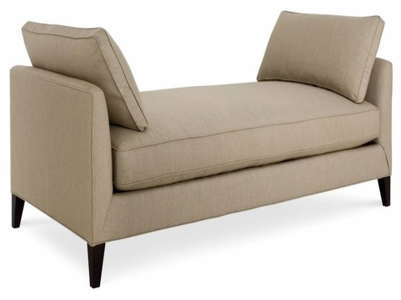 Appealing Backless Daybed Sofa Pics Ideas – Surripui For Backless Chaise Sofa (View 23 of 30)