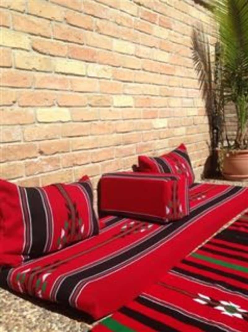 Arabic/moroccan Mediterranean/afghan Sofa Floor Seating For Sale with Moroccan Floor Seating (Image 1 of 30)