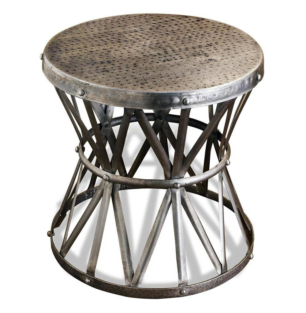 Gallery Of Hammered Silver Coffee Tables View Of Photos - Hammered silver side table