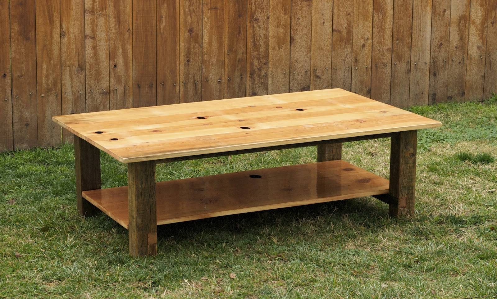 Arbor Exchange | Reclaimed Wood Furniture: Sugar Pine Coffee Table Inside Old Pine Coffee Tables (View 2 of 30)