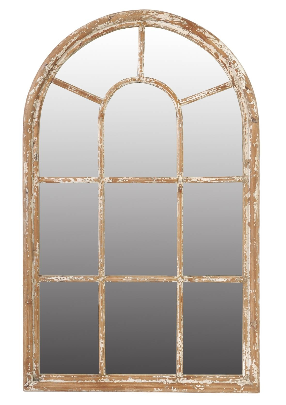 Arched Mirror With Shutters 27 Cute Interior And Cool Arched pertaining to Arched Window Mirrors (Image 3 of 25)