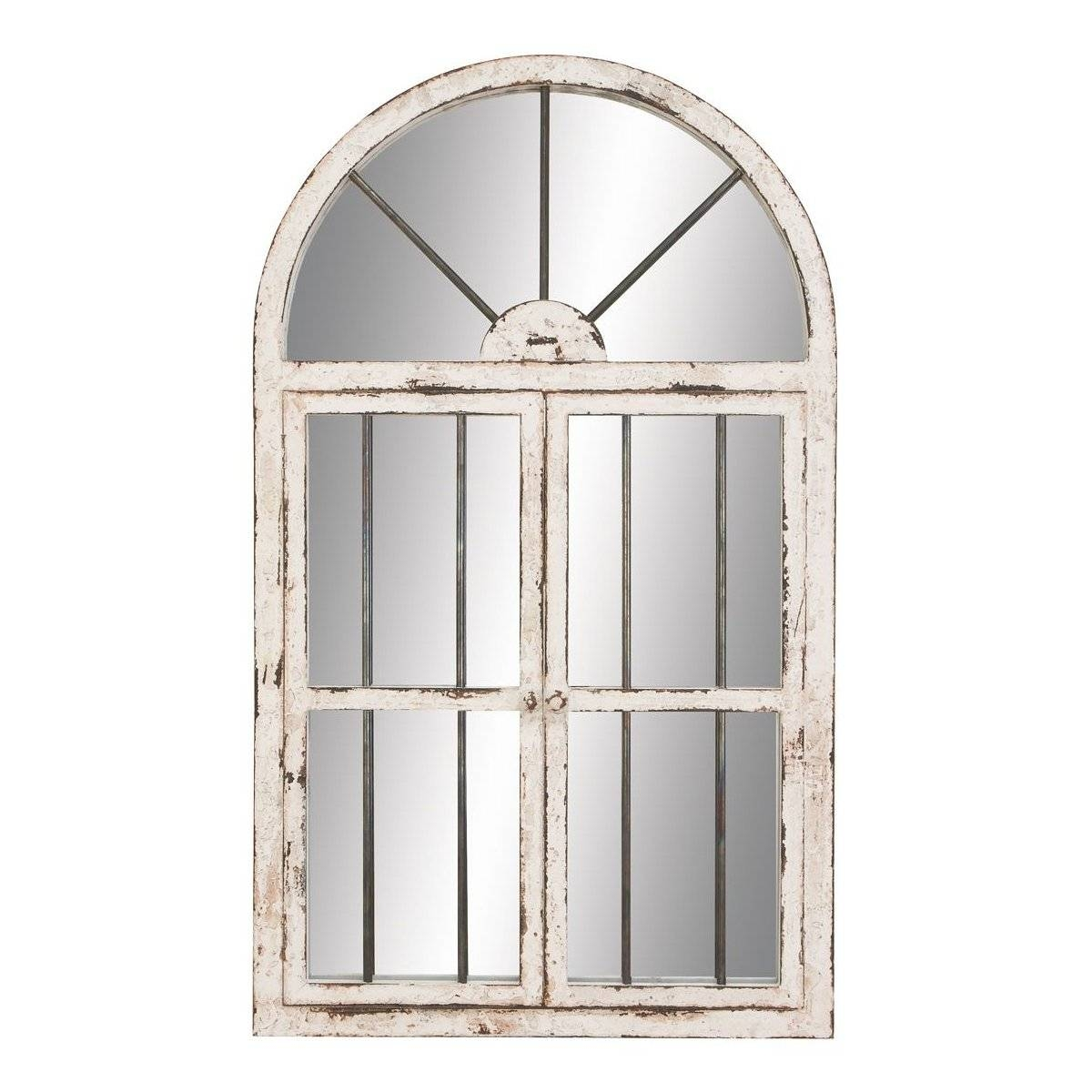 Arched Window Mirror | Roselawnlutheran regarding White Arched Window Mirrors (Image 2 of 25)