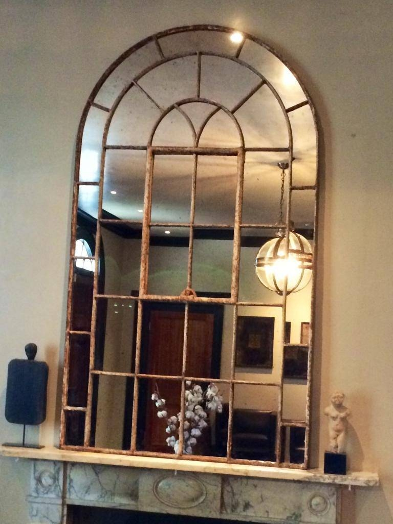Arched Window Mirror | Roselawnlutheran with regard to Window Arch Mirrors (Image 4 of 25)