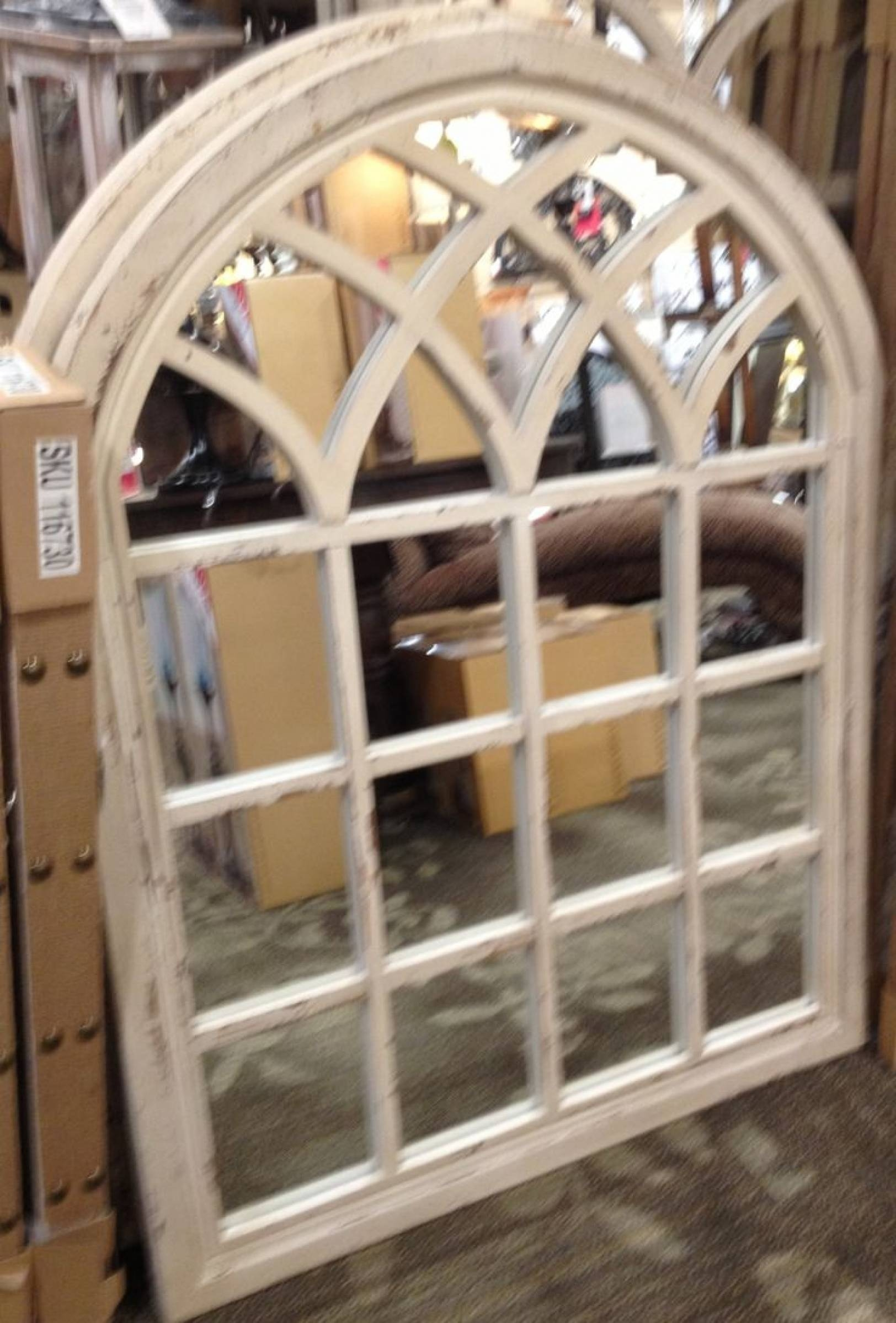 Arched Window Pane Mirror 132 Beautiful Decoration Also Distressed with White Arched Window Mirrors (Image 6 of 25)