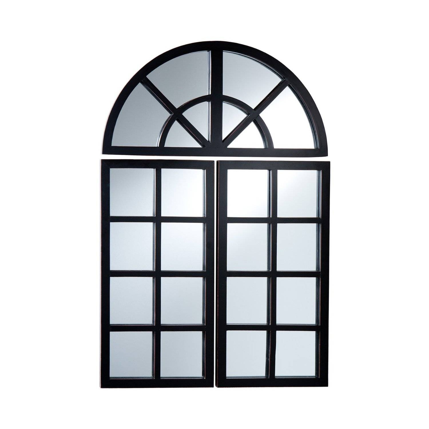 Arched Window Pane Mirror – Harpsounds.co for Window Arch Mirrors (Image 7 of 25)