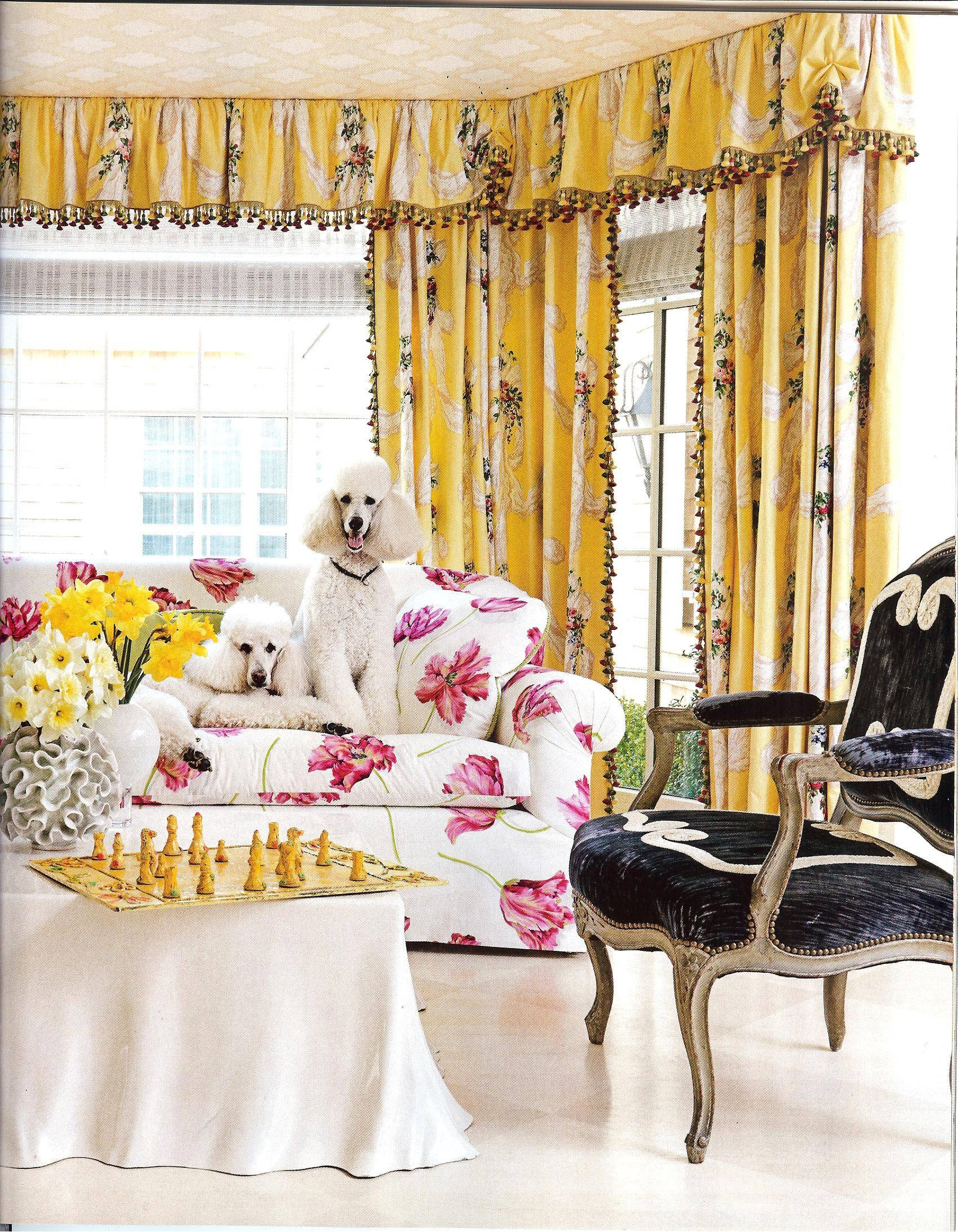 Are Those Chintz Fabrics That I See In House Beautiful Feb 2013 regarding Chintz Fabric Sofas (Image 7 of 30)