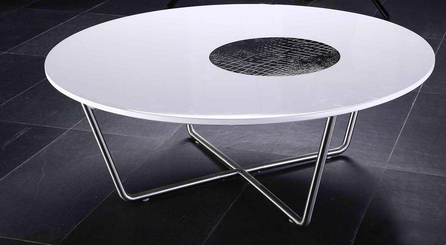 Armani Round Coffee Table regarding White Circle Coffee Tables (Image 3 of 30)