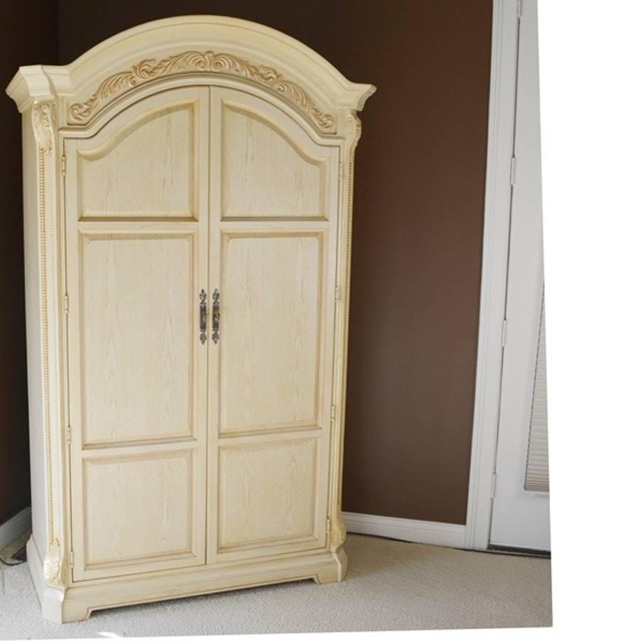Armoire: Wonderful Cream Armoire Ideas Armoire Wardrobe, Armoire Pertaining To Cream French Wardrobes (View 2 of 15)