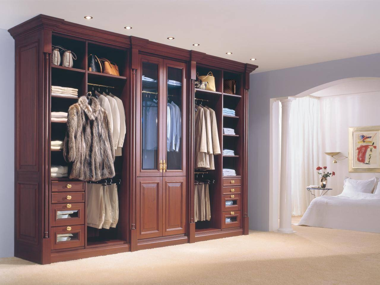 Armoires And Wardrobes: Closet Storage Ideas And Solutions | Hgtv regarding Bedroom Wardrobe Storages (Image 2 of 30)