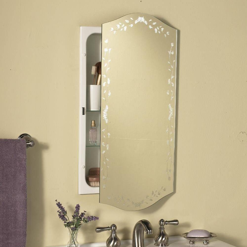 Art Deco Bathroom Mirror Cabinet with regard to Deco Bathroom Mirrors (Image 3 of 25)