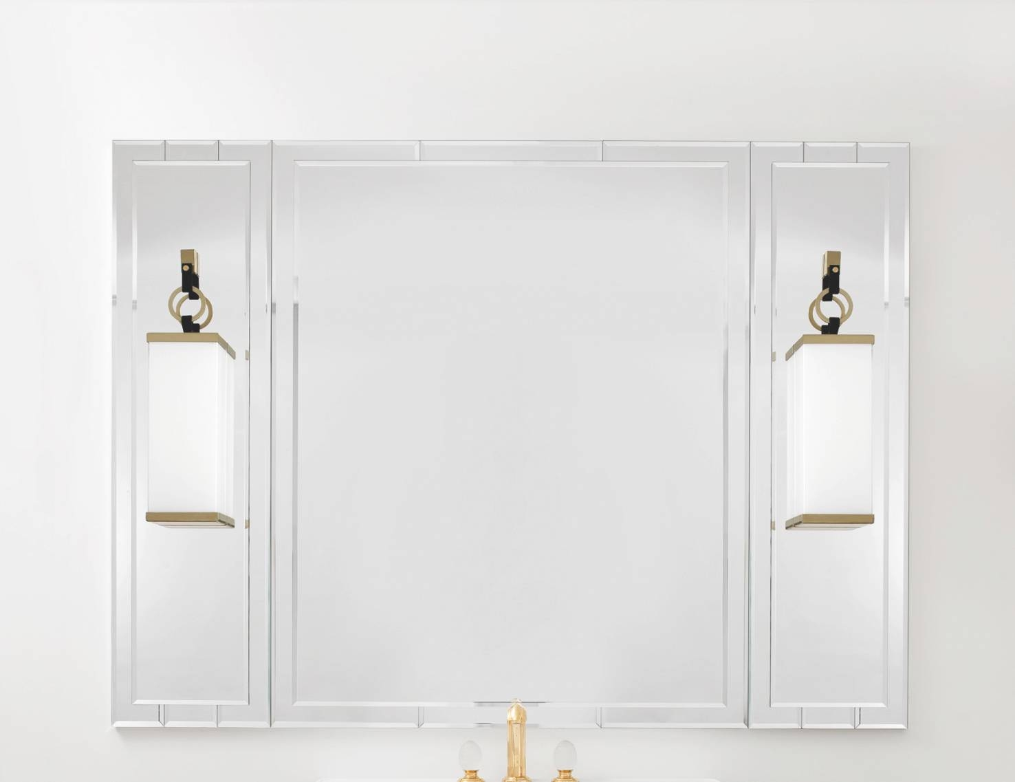 Art Deco Bathroom Mirrors | Home Design pertaining to Art Deco Style Bathroom Mirrors (Image 11 of 25)