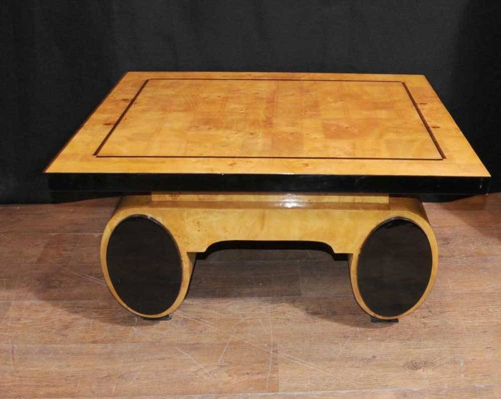 Art Deco Coffee Table Round Look Here Tables Ideas Ebay Element 4 pertaining to Art Coffee Tables (Image 6 of 30)