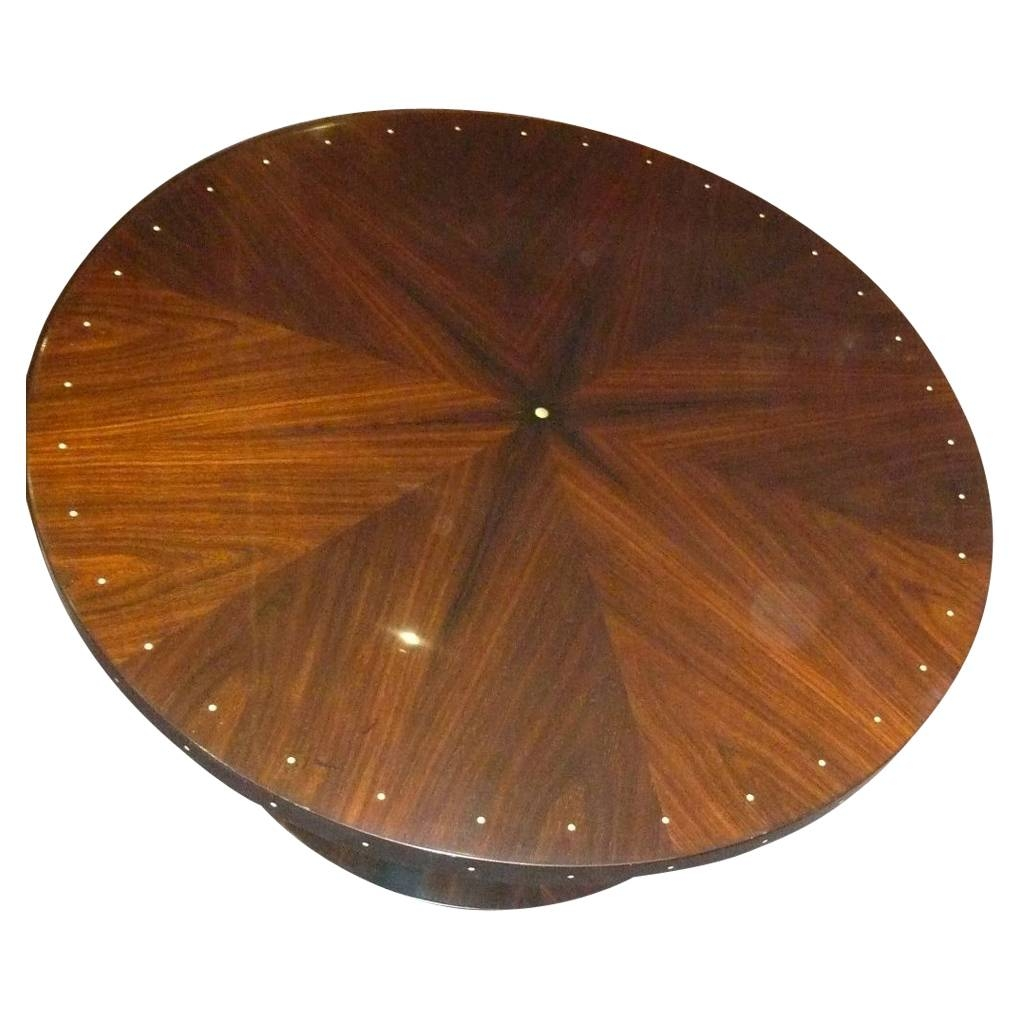 Art Deco Furniture For Sale | Small Tables | Side Tables pertaining to Clock Coffee Tables Round Shaped (Image 2 of 30)