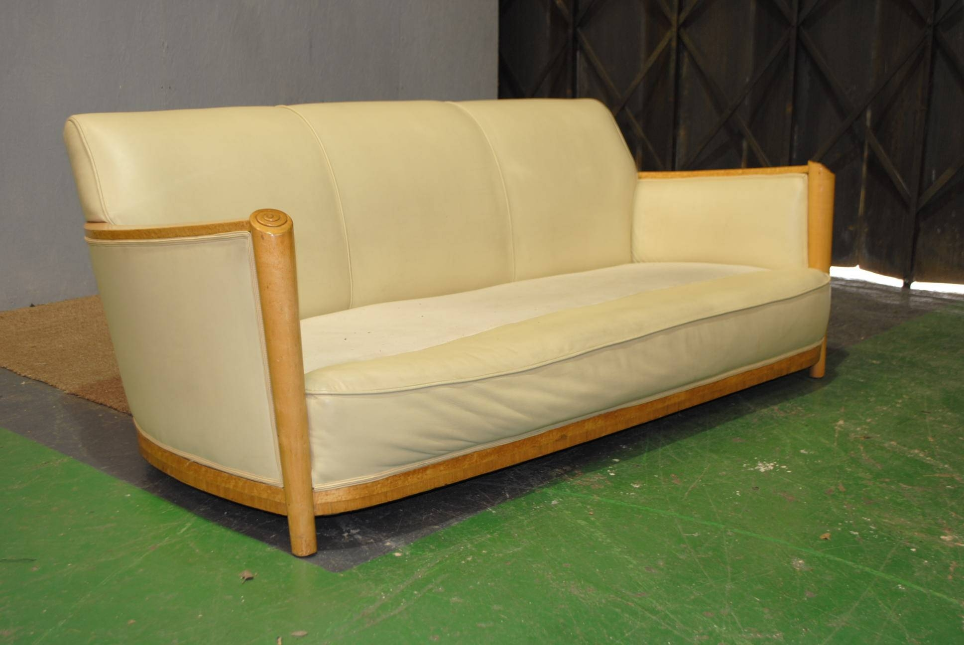 Art Deco Maurice Adams Sofa || Cloud 9, Art Deco Furniture Sales intended for Art Deco Sofa and Chairs (Image 4 of 15)