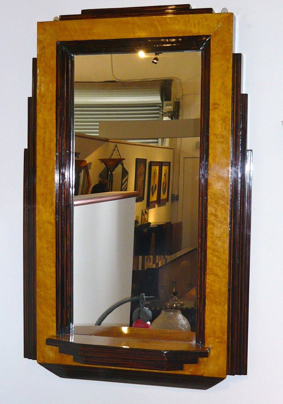 Art Deco Mirrors For Sale | Art Deco Collection throughout Art Nouveau Mirrors (Image 6 of 25)