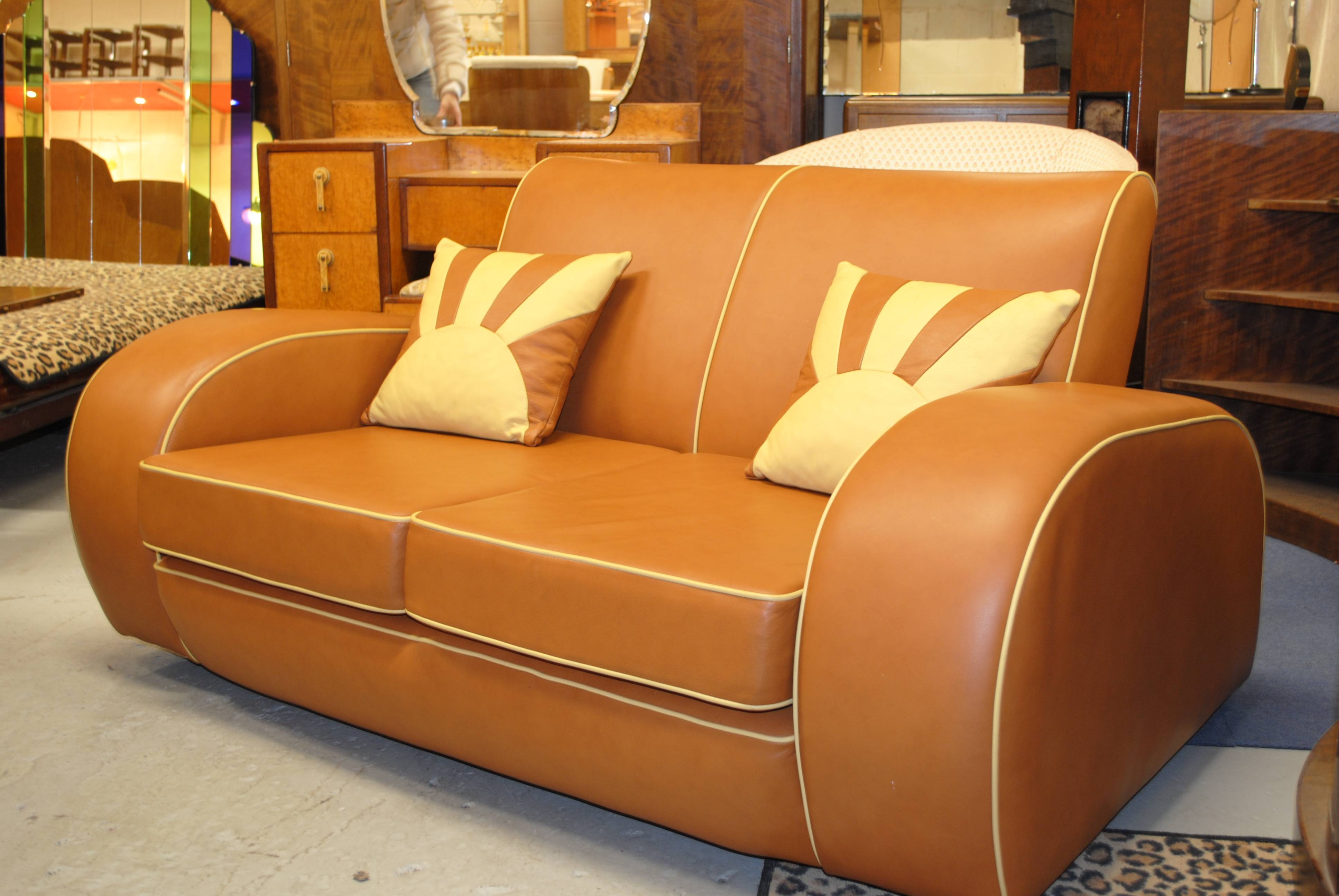 Art Deco Sofa And Chairs | Sofas Decoration throughout Art Deco Sofa and Chairs (Image 7 of 15)
