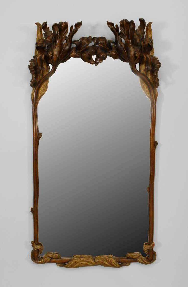 Art Deco Wall Mirror 81 Stunning Decor With Art Nouveau Parcel in Art Deco Wall Mirrors (Image 7 of 25)