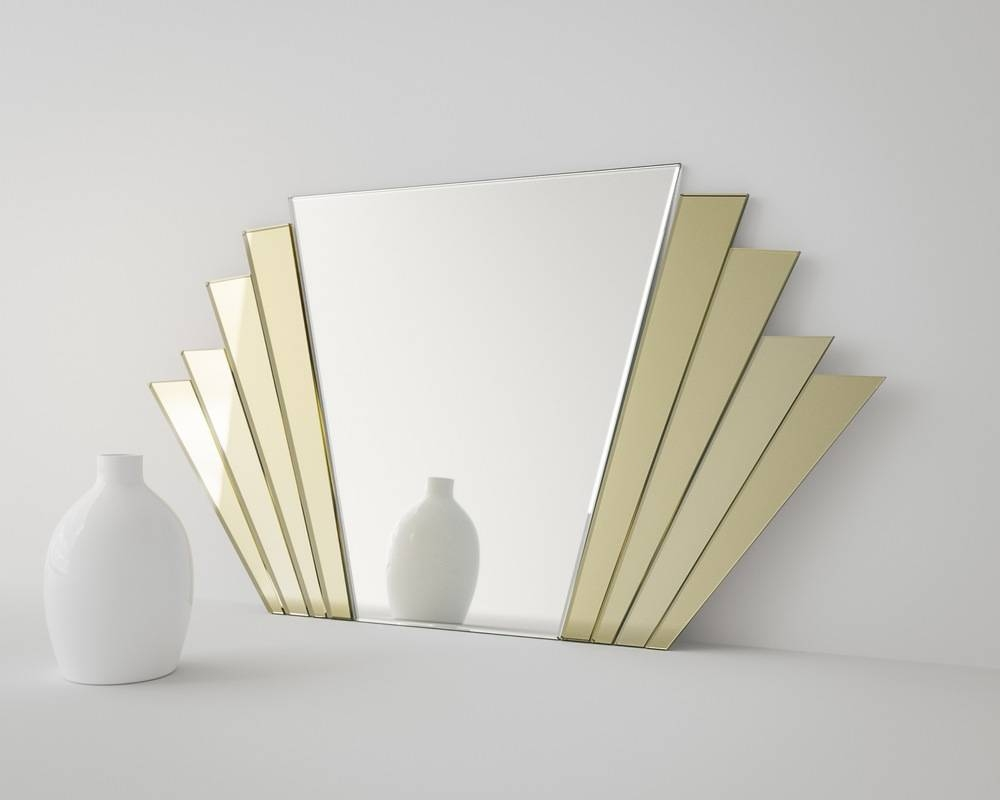 Art Deco Wall Mirror Neat Large Wall Art For Art Wall - Home throughout Large Art Deco Wall Mirrors (Image 8 of 25)