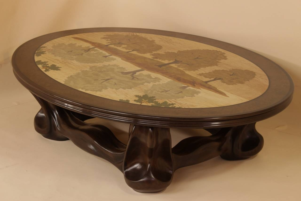 Art Nouveau Coffee Tables | Coffee Tables Decoration pertaining to Art Coffee Tables (Image 13 of 30)