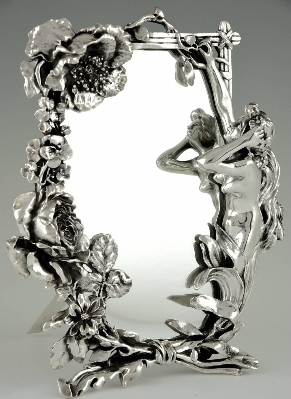 Art Nouveau Mirror | Trendfirst intended for Art Nouveau Mirrors (Image 9 of 25)