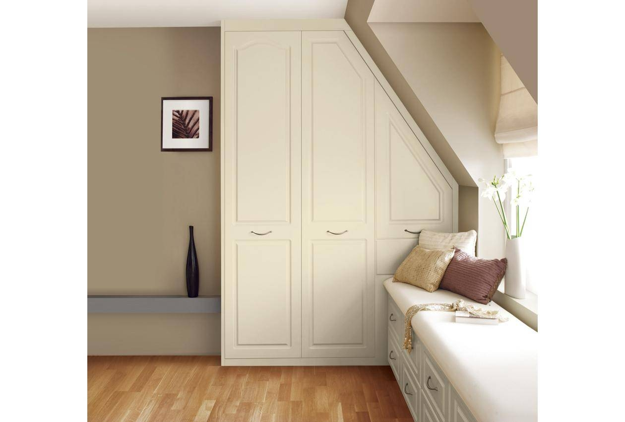 Ascot White Wardrobes & Cream Bedroom Furniture From Sharps intended for Cream Wardrobes (Image 1 of 15)