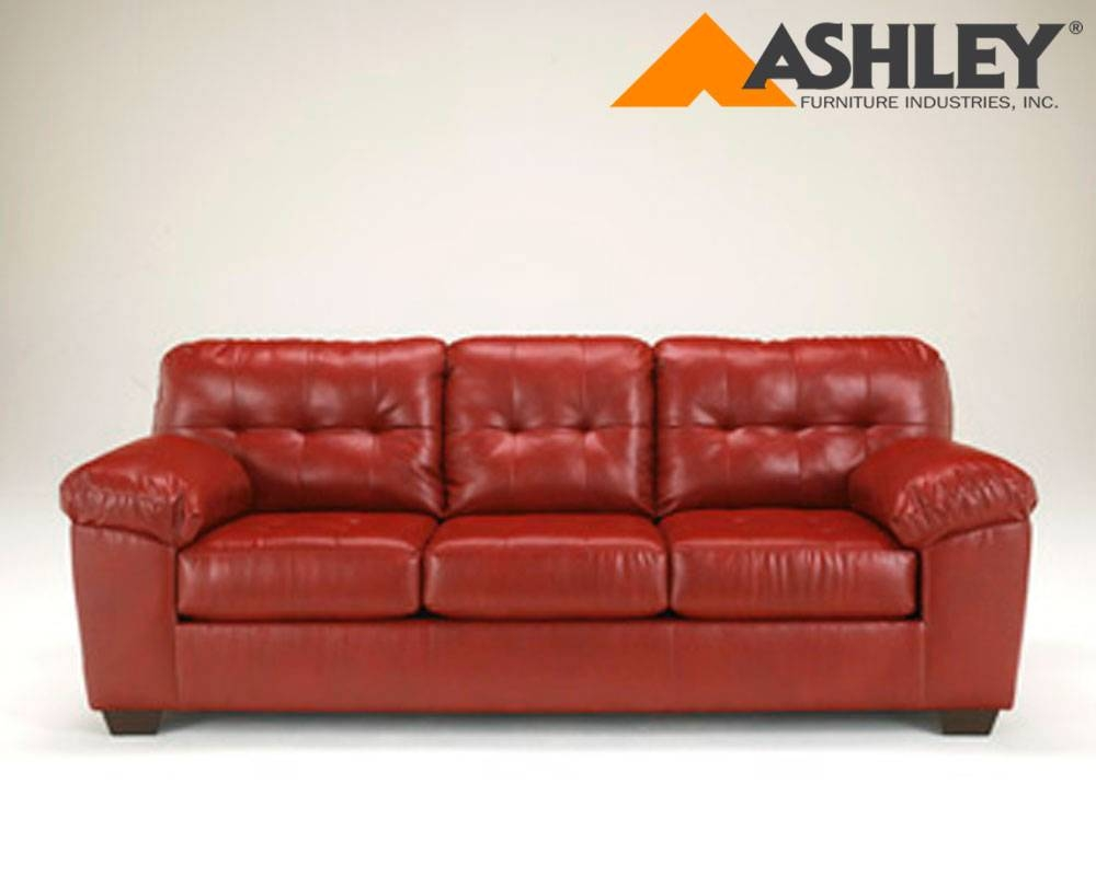Ashley® Alliston Durablend® Salsa Replacement Cushion And Cover in Sofa Cushions (Image 1 of 30)