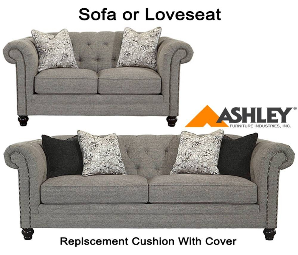 Slipcovers Ashley Furniture: 30 Collection Of Sofa Cushions