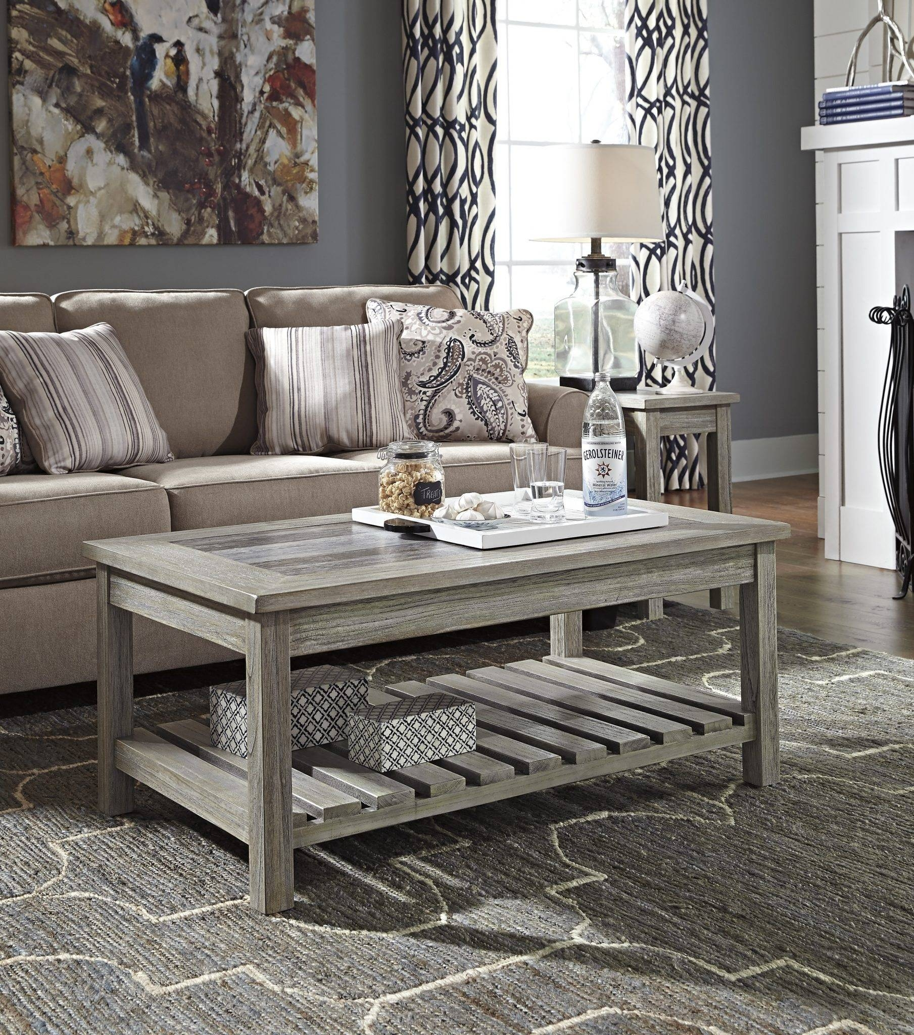 Ashley Coffee Table. Laura Ashley Garrat Other Dining Living Room intended for Grey Coffee Table Sets (Image 2 of 30)