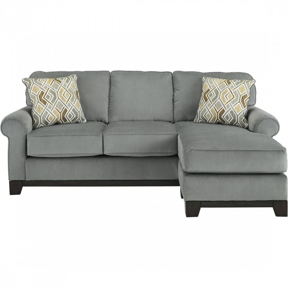 Ashley Furniture Benld Sofa Chaise In Marine | Local Furniture Outlet within Ashley Furniture Gray Sofa (Image 2 of 30)